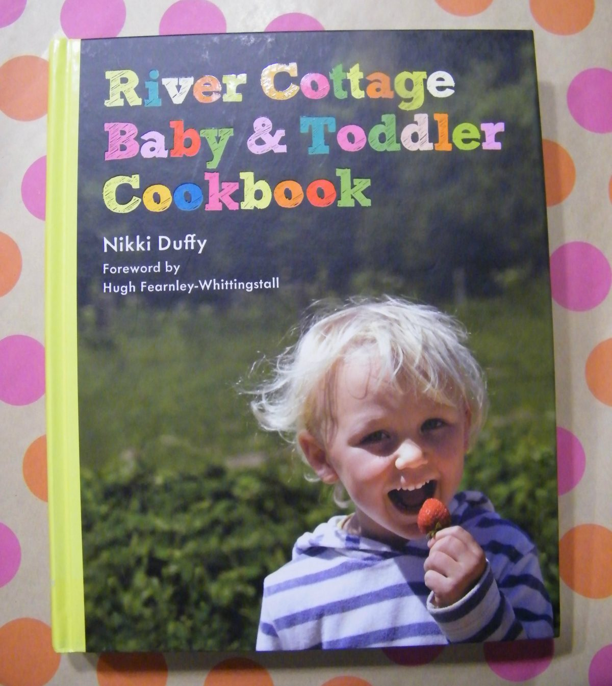 River Cottage Baby& Toddler Cookbook Giveaway! (7/28 US&CAN $35)